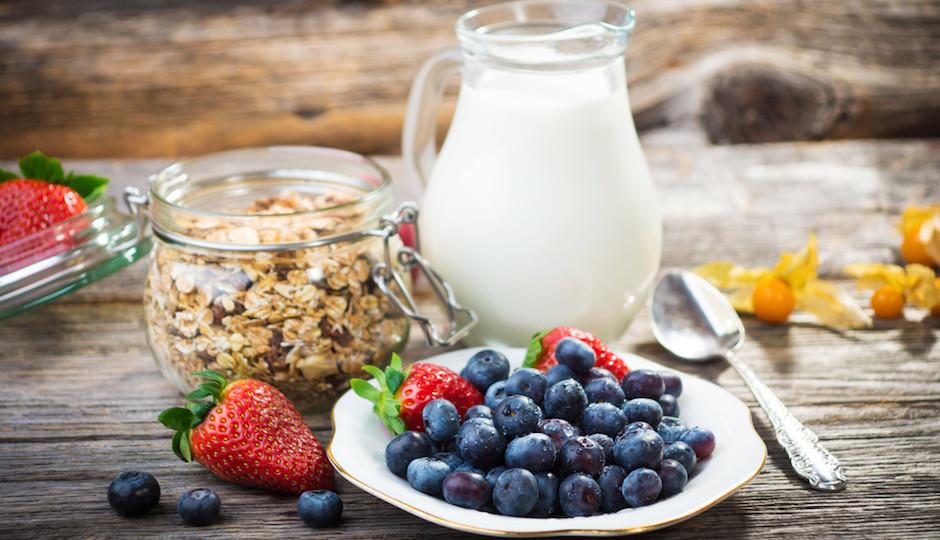صبحانه های رژیمی و خوشمزه بر حسب کالری