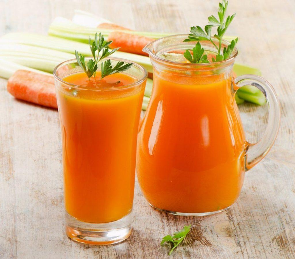 اثرات آب هویج بر روی کم کردن وزن