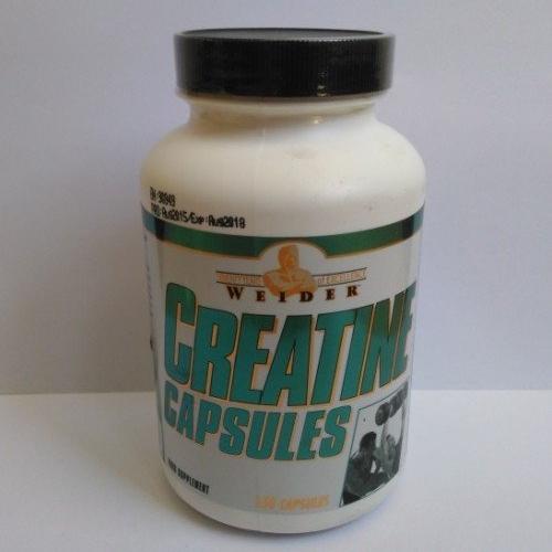 creatine capsules weider