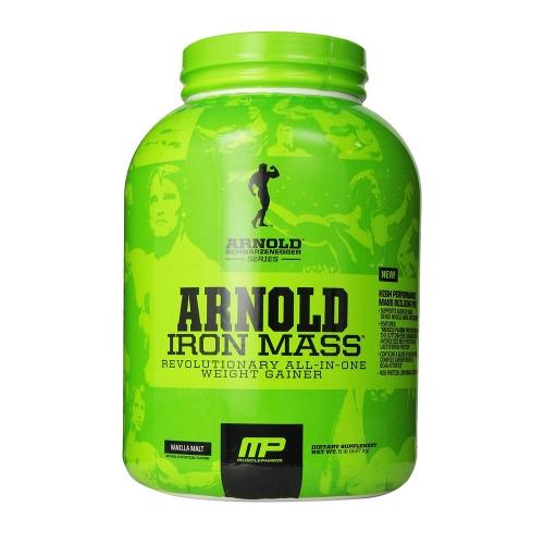 arnold iron mass musclepharm gainer